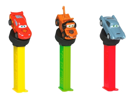 Cars 2 pull & go dispensers